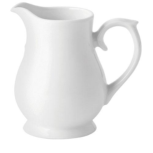 Porcelain Chatsworth Jug (Standard) 20oz White