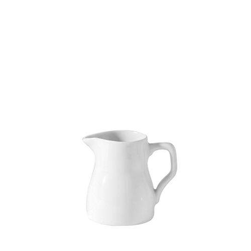 Porcelain Traditional Jug 8oz White