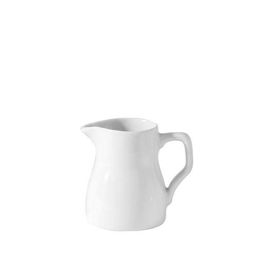 Porcelain Traditional Jug 11oz White