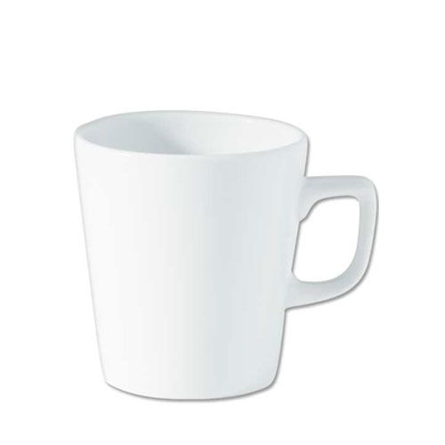 Utopia Porcelain Latte Mug 7oz White