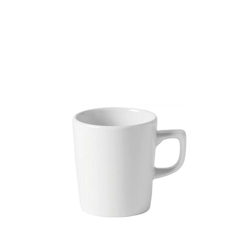 Utopia Porcelain Latte Mug 12oz White