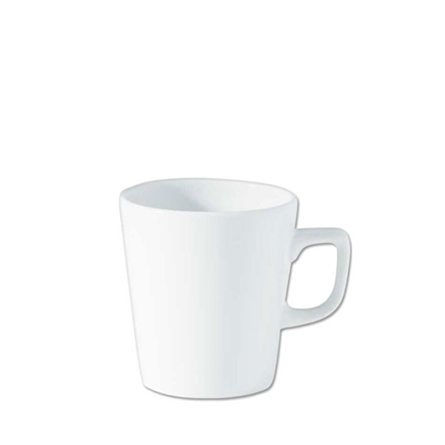 Utopia Porcelain Latte Mug 16oz White