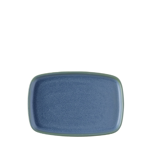 Churchill Emerge Oblong Plate 15cm x 22cm Oslo Blue
