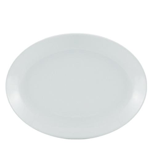 Porcelain Oval Plate