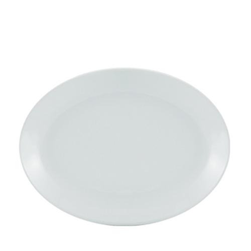 Utopia Porcelain Oval Plate 11