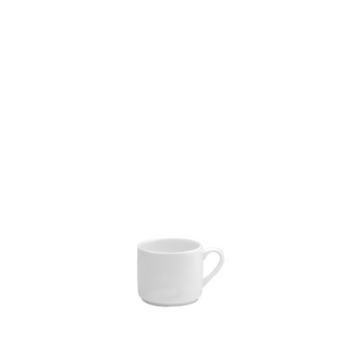 Elia Glacier Bone China Espresso Cup 3.5oz White