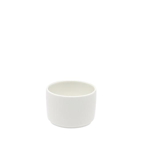 Elia Glacier Bone China Open Sugar Bowl 8oz White