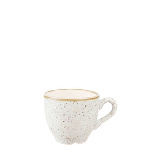 Churchill Stonecast Espresso Cup 3.5oz Barley White