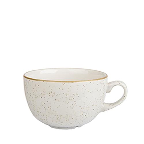 Churchill Stonecast Cappuccino Cup 16oz Barley White