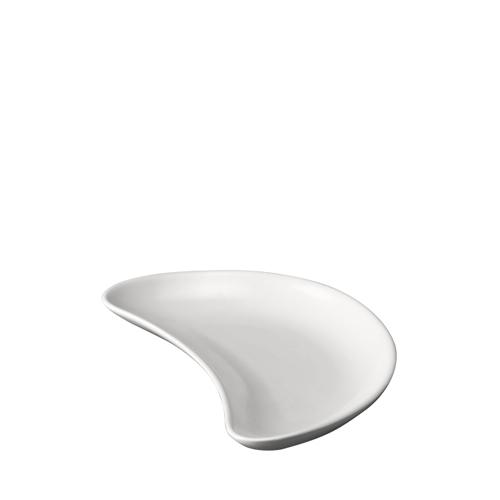 Churchill Plain White Crescent Salad Plate 8