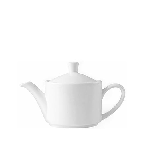 Steelite Monaco   Vogue Teapot 15oz White