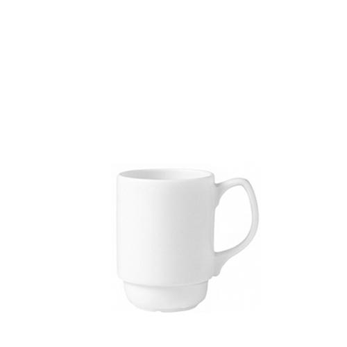 Steelite Monaco Stacking Beaker 9oz White