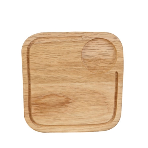 Churchill Art De Cuisine  Small Square Oak Board 8.4 x 8.4