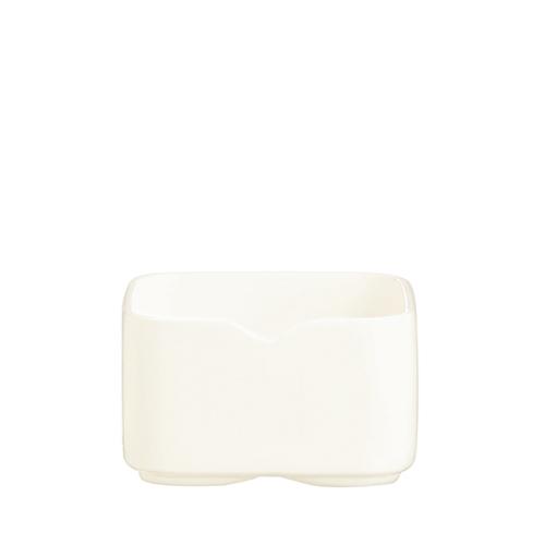 Arcoroc Mekkano Square Dish 7.3cm White