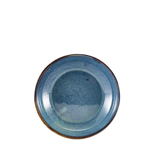 Genware Terra Porcelain  Coupe Bowl 20cm Aqua Blue