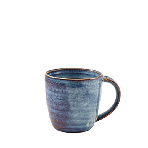 Genware Terra Porcelain Mug 32cl Aqua Blue