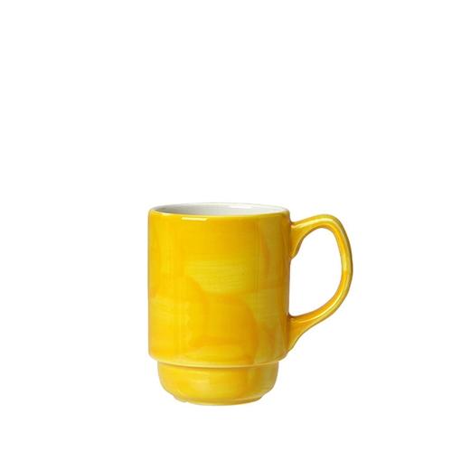 Steelite Freedom Stacking Beaker 9oz Yellow