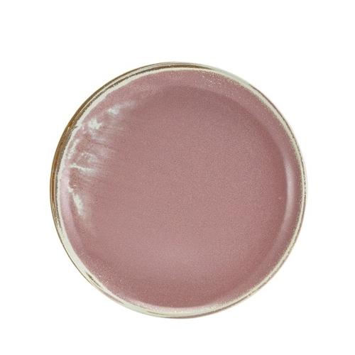 Genware Terra Porcelain  Coupe Plate 27.5cm Rose