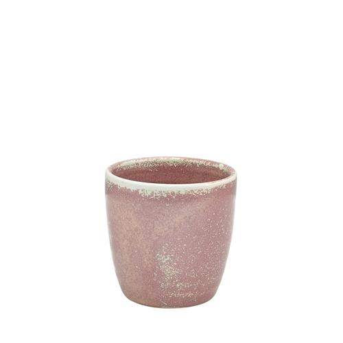 Genware Terra Porcelain  Chip Cup 32cl Rose