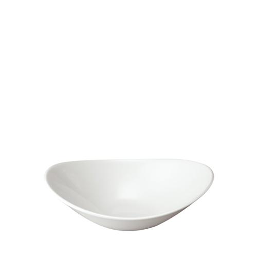 Churchill Orbit Small Oval Bowl 10.6oz (30cl) White