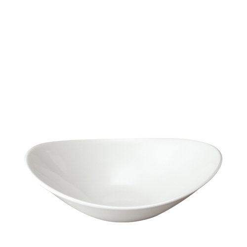 Churchill Orbit Large Oval Bowl 17oz (48cl) White
