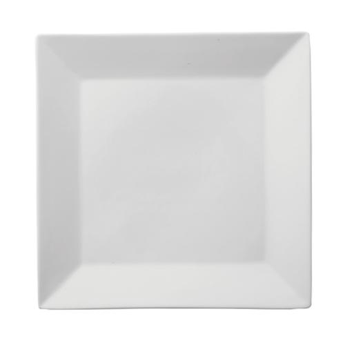Utopia Porcelain Square Plate 10.5