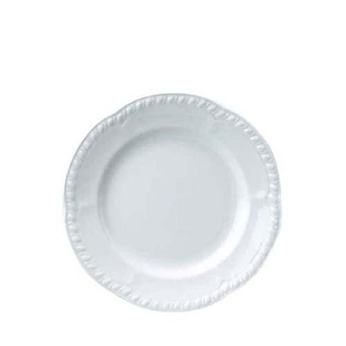 """Churchill Buckingham Embossed Plate 10"""" White"""