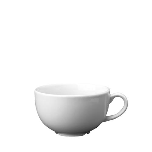 Churchill Plain White Cappuccino Cup 12oz