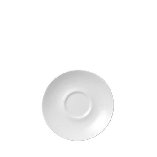 Churchill Plain White Cappuccino Saucer 6.25