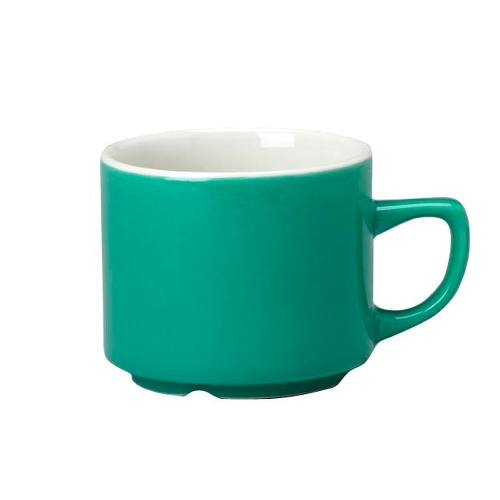 Churchill New Horizons Maple Tea Cup 19.6cl Green