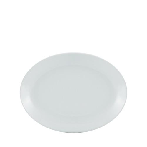 Utopia Porcelain Oval Plate 9.5