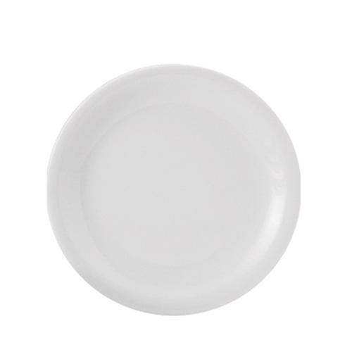 Utopia Porcelain Narrow Rim Plate 9.5