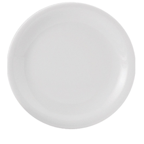 Utopia Porcelain Narrow Rim Plate 11