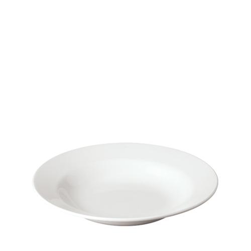 Churchill Plain White Pasta Plate 11