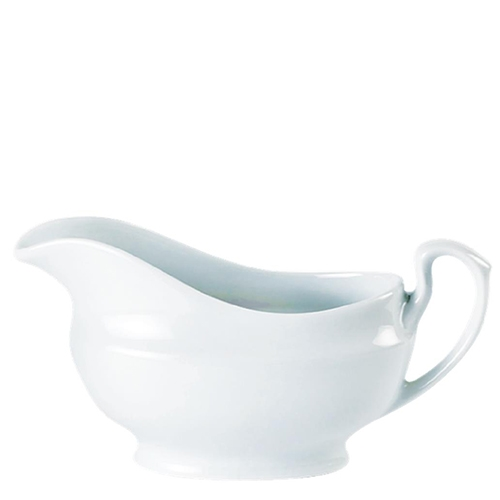 Porcelain  Sauce Boat (14oz) White