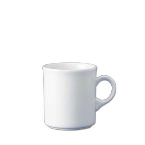 Churchill Plain White  Nova Mug 8oz
