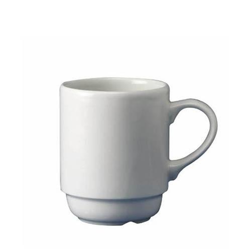 Churchill White Holloware Stacking Mug 10oz