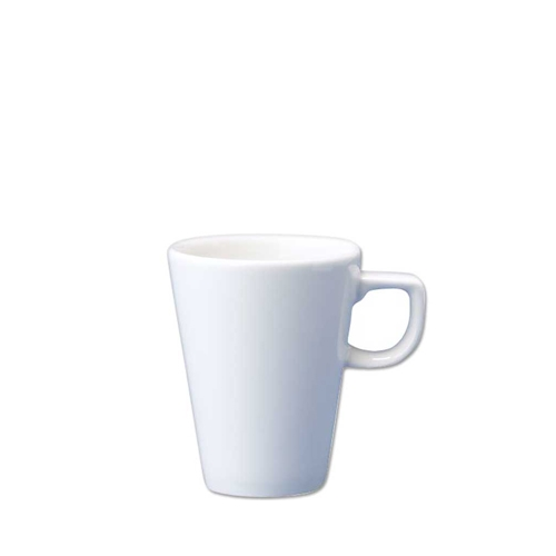 Churchill Plain White Cafe Cup 8oz