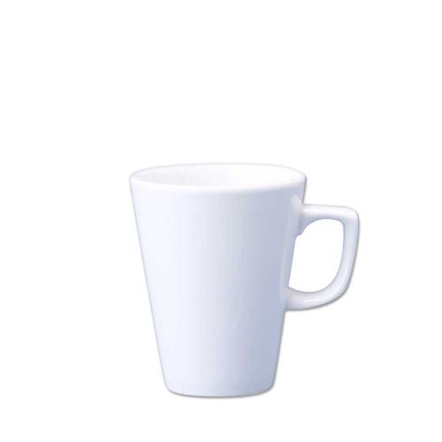 Churchill Plain White Cafe Latte Mug 12oz