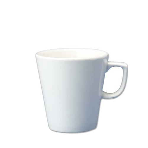 Churchill Plain White Cafe Latte Mug 16oz