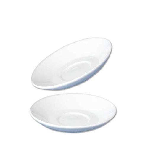 Churchill Plain White Cafe Saucer 6.5