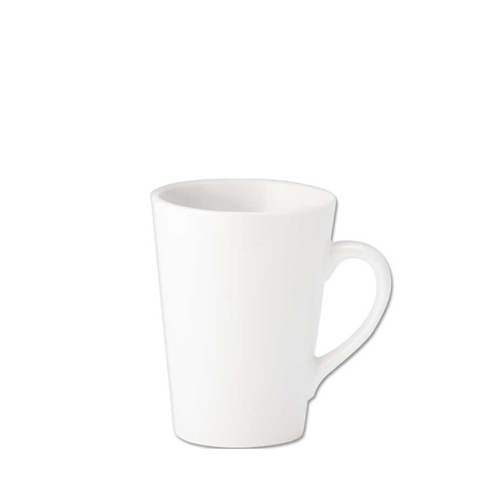 Pure White Latte Mug