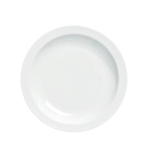 Utopia Pure White Narrow Rim Plate 10.75