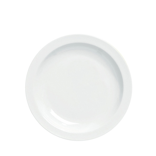 Utopia Pure White Narrow Rim Plate 10