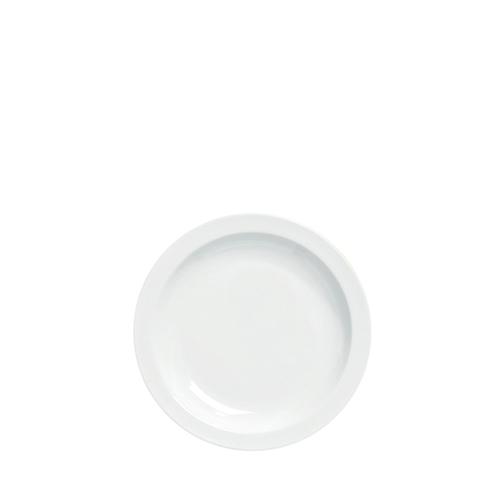 Pure White Narrow Rim Plate