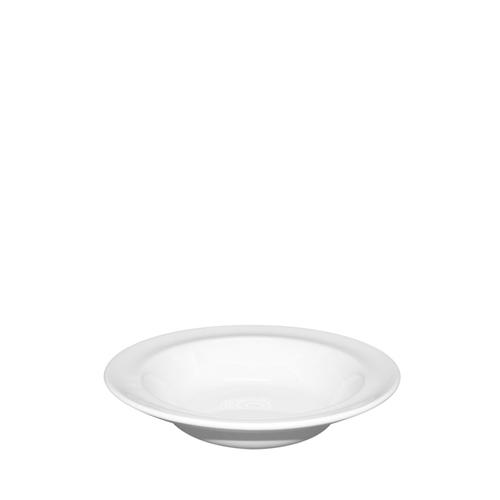 Churchill Plain White Rimmed Fruit Bowl 16cm