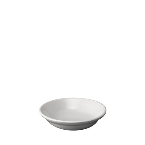 Churchill Plain White Rimless Fruit Bowl 5