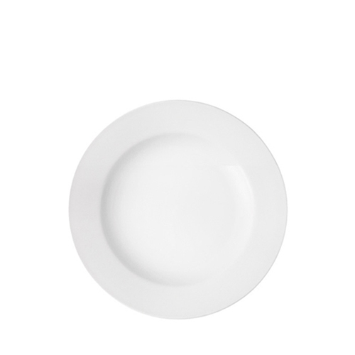 Utopia Pure White  Wide Rim Plate 9