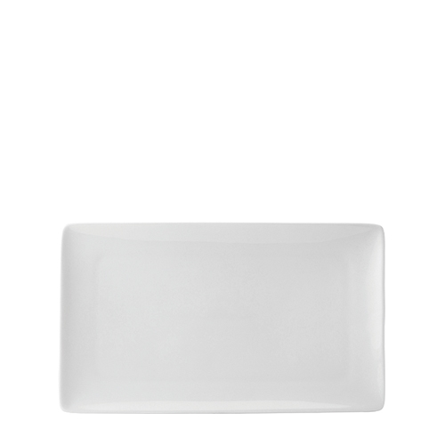 Pure White Rectangular Plate (13.75
