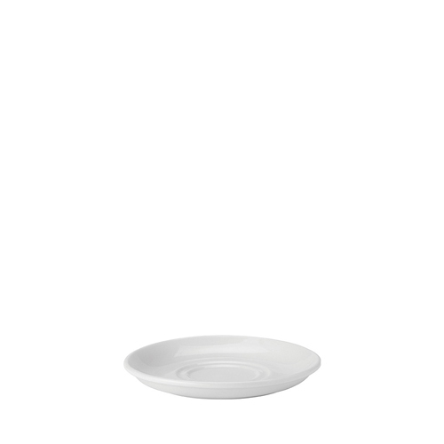 Utopia Pure White Double Well Saucer 6